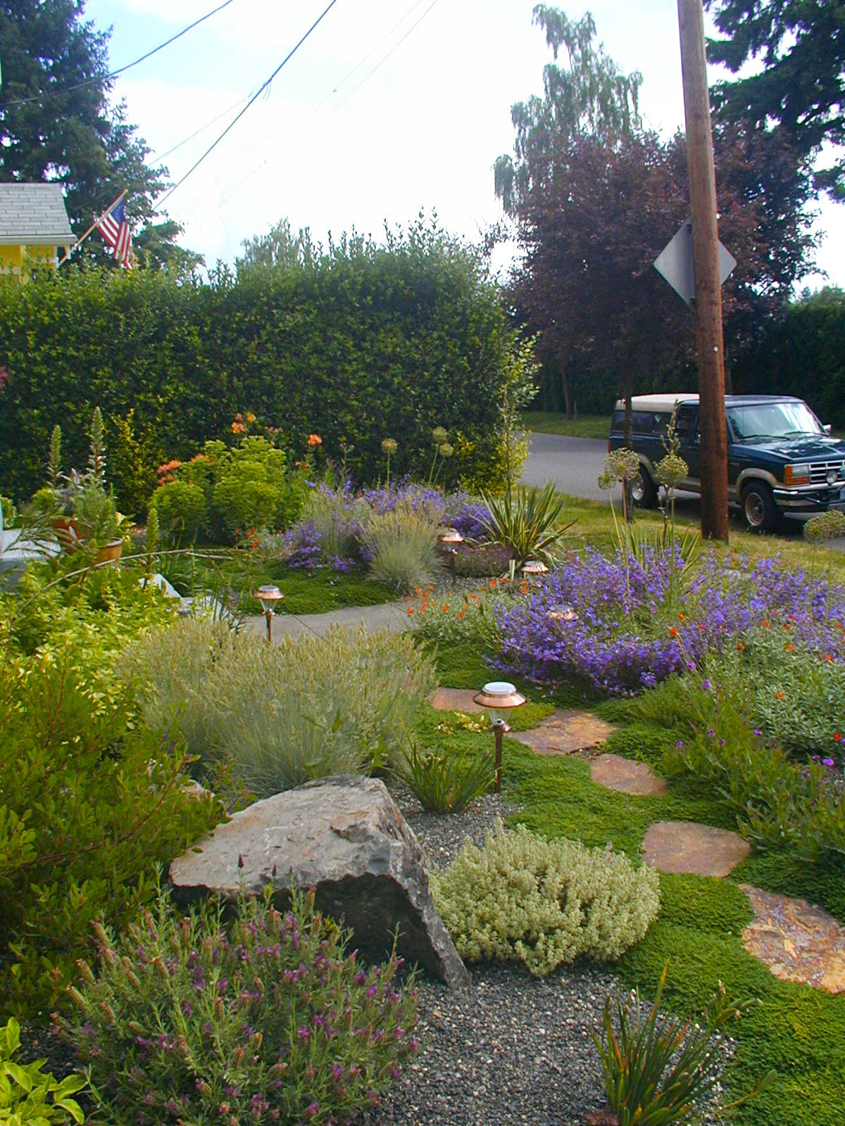 Mediterranean Gravel Garden - Creative Landscapes, Inc. on Backyard Rocks  id=26688