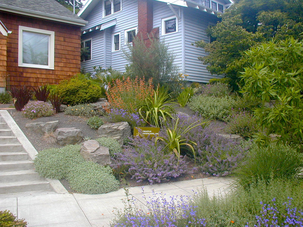 Xeriscape with Boulders - Creative Landscapes, Inc. on Xeriscape Yard Ideas id=62930