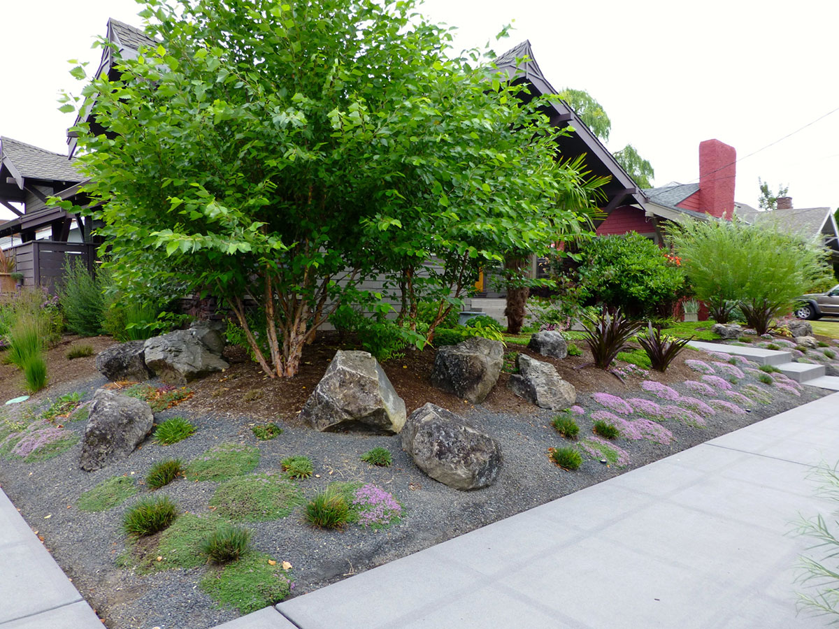 Rock Gardens - Creative Landscapes, Inc. on Backyard Rocks  id=97048